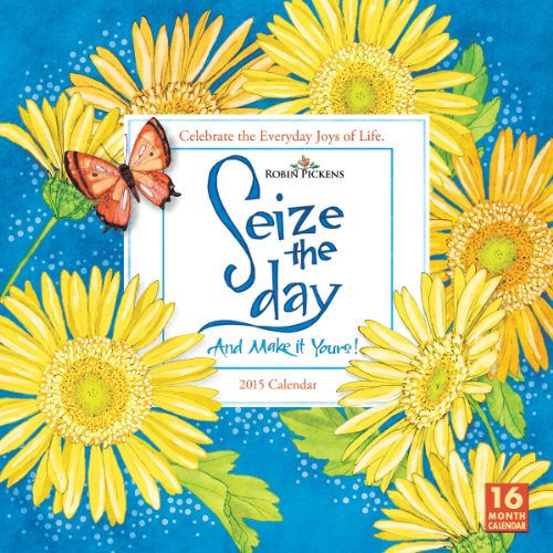 Seize the Day 2015 Wall - 2015 Wall Calendar With Quotes