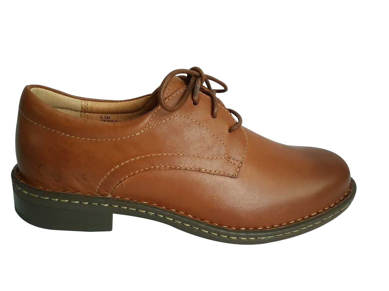 Cosycost business men Oxfords working formal shoes 009M(8.5, brown)