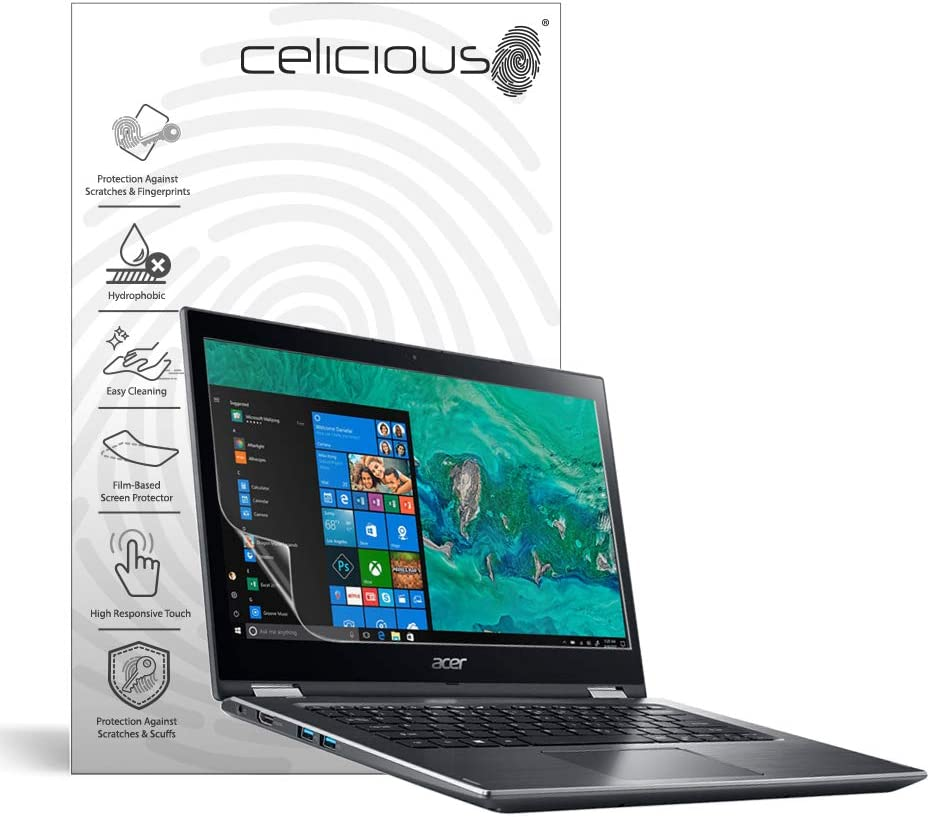 Pack of 2 Celicious Matte Anti-Glare Screen Protector Film ...