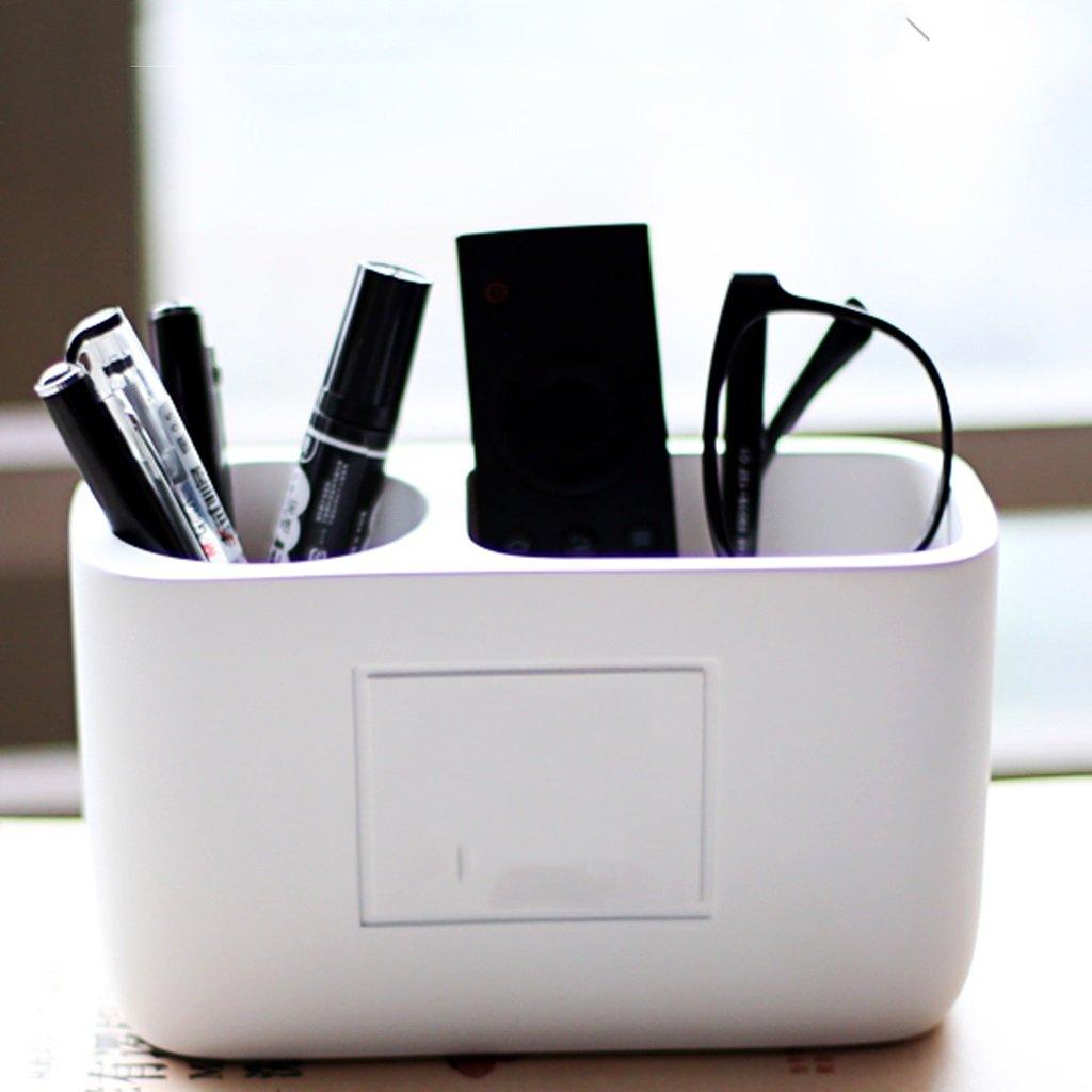 Portaplumas portabolígrafos para portalápices estudiantes portabolígrafos portalápices para para oficina portalápices para lápices ( Color : Blanco ) eccf51