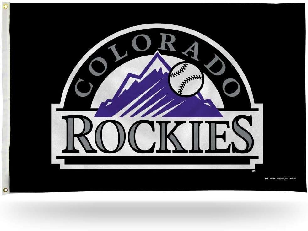 Rico Industries Colorado Rockies Banner Flag