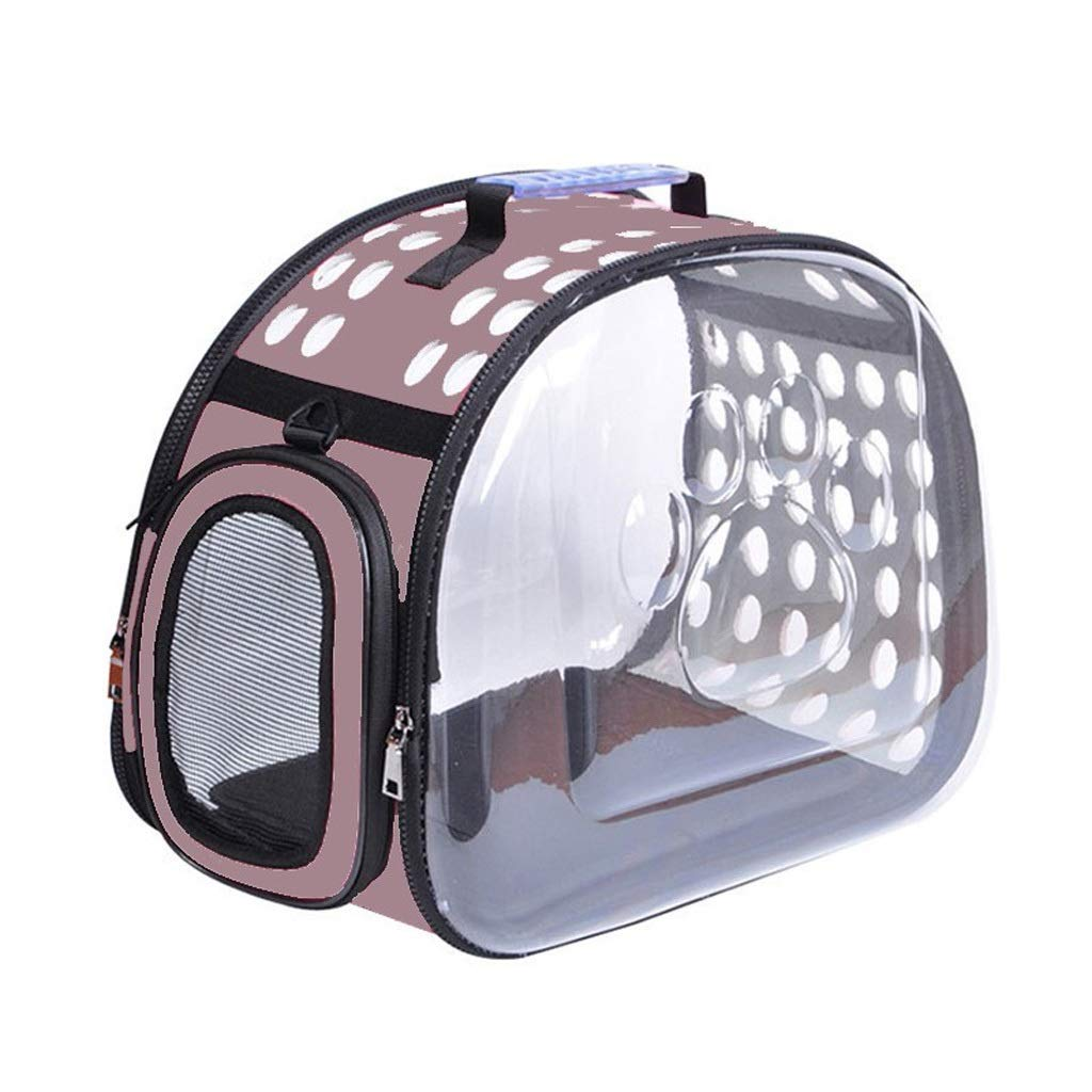 bluee PETIN-Pet backpack Pet Cage Cat Carrier Portable Pet Bag Comfortable Loose Travel Hiking Camping Size L36cmW20cmH22cm (color   bluee)