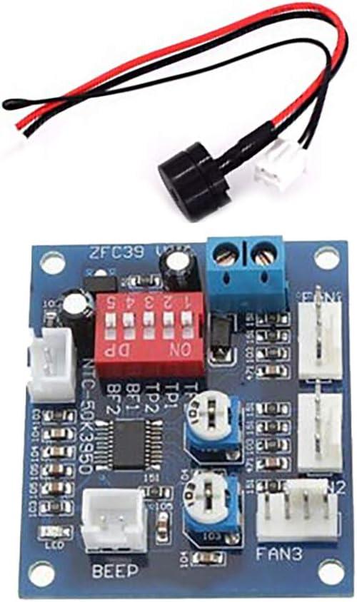 styleinside 1PCS DC 12V PWM PC CPU Ventilador Control de ...