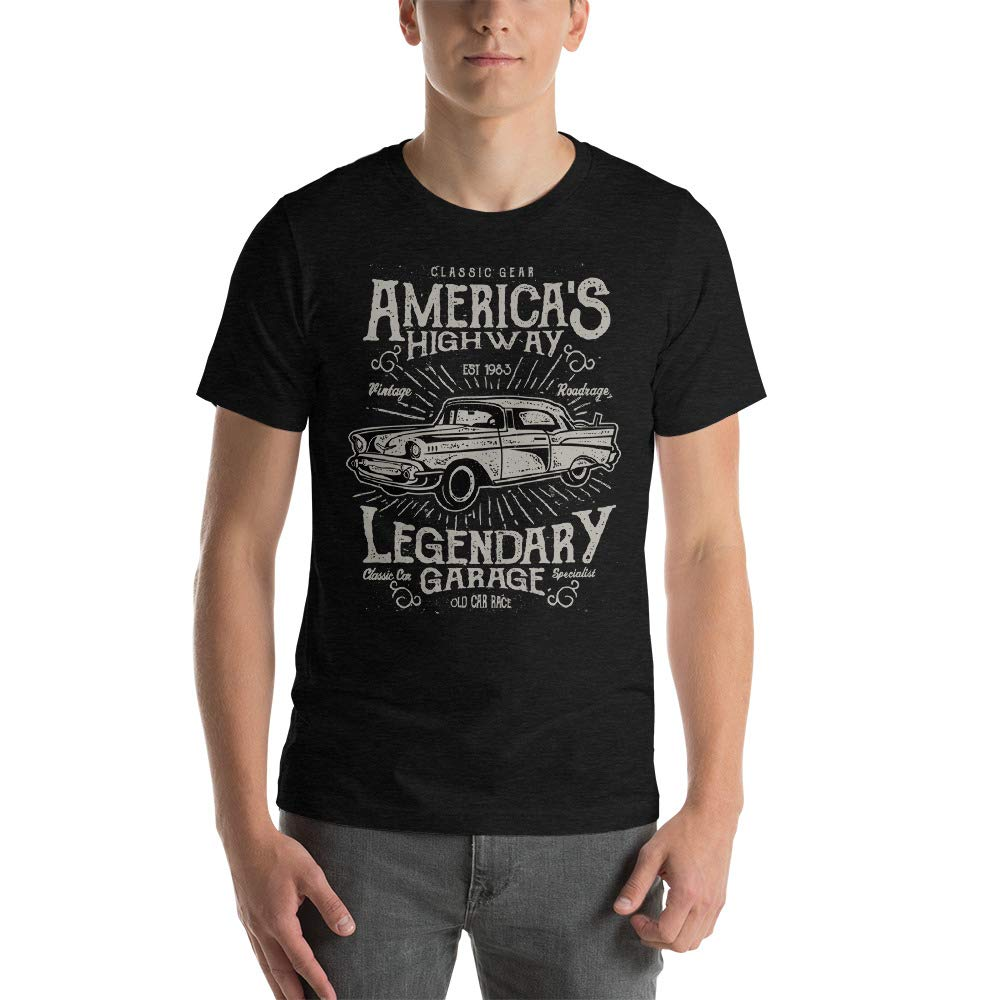 Classic Car Lovers Short-Sleeve Unisex T-Shirt Abundant Life Co