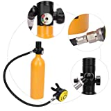 Portable Scuba Tank, Aviation Aluminum 1L Diving