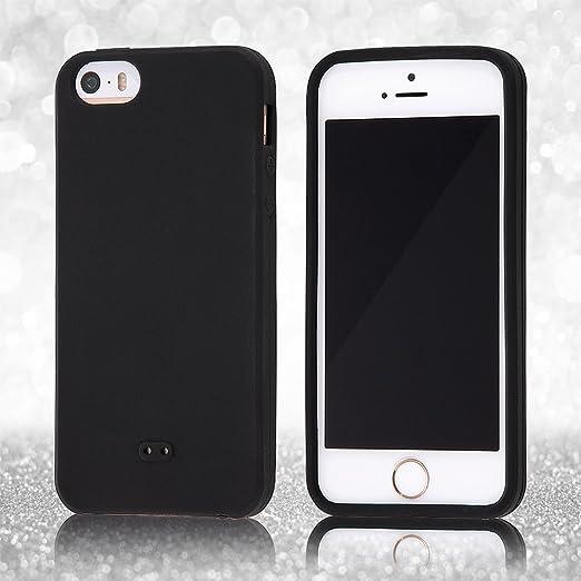 30d491a436 Amazon | レイ・アウト iPhone SE / iPhone5s / iPhone5 ケース シリコンケース シルキータッチ ブラック  RT-P11C1/B | 家電&カメラ オンライン通販