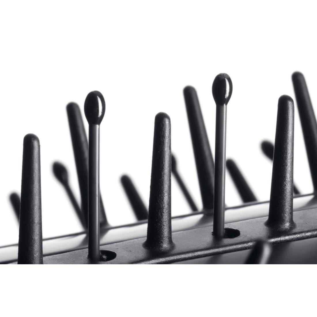 Bosch PHC7771 Straightening curling brush Caliente Negro 55W 1.8m Utensilio de peinado - Moldeador de pelo (Cepillo alisador y rizador de pelo, Caliente, ...