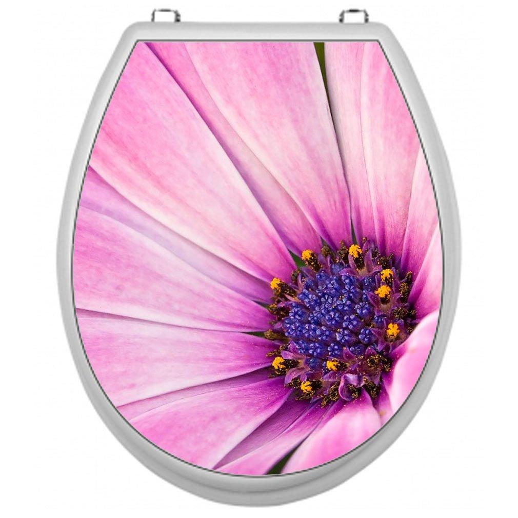SHIRT-TO-GO Pegatinas para tapa de WC dise/ño de flores