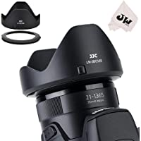 JJC Reversible Lens Hood Shade Protector & 67mm Filter Adapter Ring for Canon Powershot SX70 HS, G3 X , SX60 HS, SX50 SX40 HS, SX30 IS, SX20 IS, SX540 SX530 SX520 HS Replaces Canon LH-DC100 & FA-DC67B