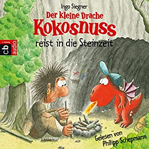 Der kleine Drache Kokosnuss in der Steinzeit Audiobook