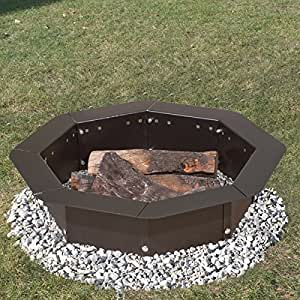 Heavy duty bolt together campfire ring or for Amazon prime fire pit