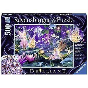 Ravensburger 14882 Puzzle Luminoso Soggetto Nel Bosco Delle Fate 500 Pz