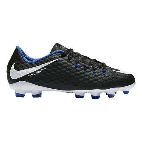 new concept a2dba f21a3 Nike Jr. Hypervenom Phelon 3 FG Pavimento Duro Bambino 30 Scarpe da Calcio  – Scarpe