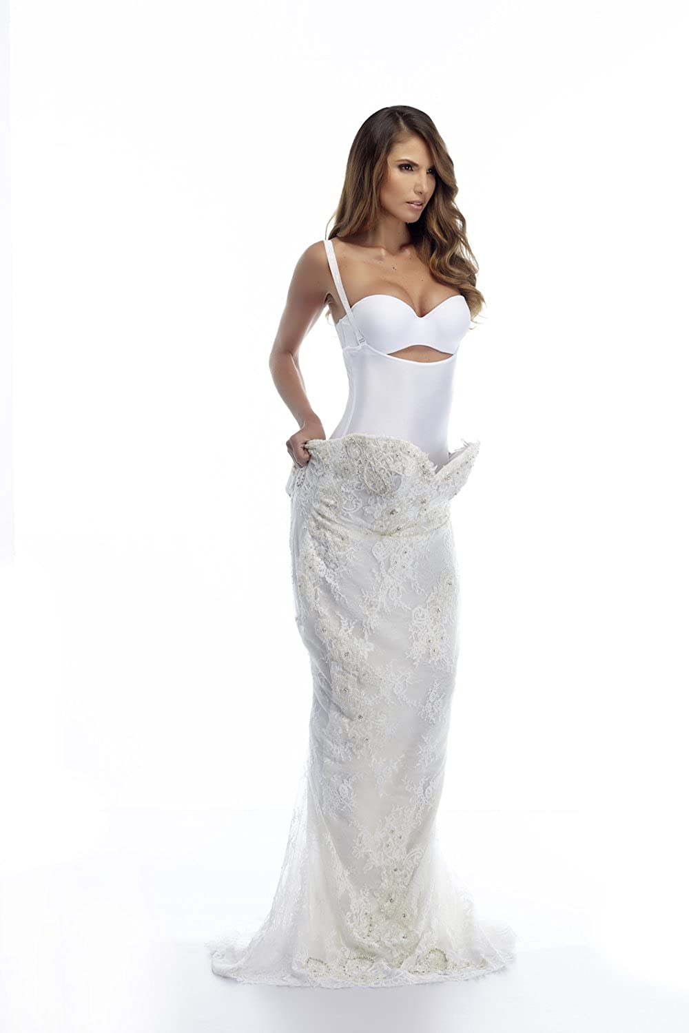 Control Bride Womens Fajas Colombianas Full Body Waistband Bride Wedding Dress Shaper Faja para Vestido de Novia 081800 at Amazon Womens Clothing store: