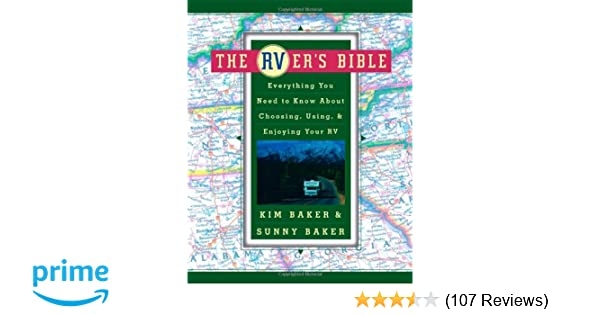 the rver s bible revised and updated baker kim baker sunny