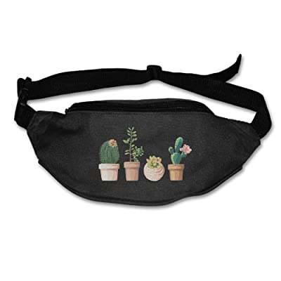 Popular Cactus Watercolor Wallets Sport Pouch Waist Packs Hip Pack Bum Chest Bag