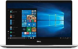 "2019 New Dell Inspiron 13 7000 7370 Laptop -13.3"" IPS FHD 1080P (1920x1080), 8th Gen Intel Quad-Core i5-8250U(up to 3.4GHz), 256GB SSD, 8GB DDR4, Backlit Keyboard, HDMI, Bluetooth,Windows 10, Silver"