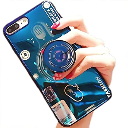 Amazon.com: Camera Blue Ray Phone Cover with Stand Bracket ...