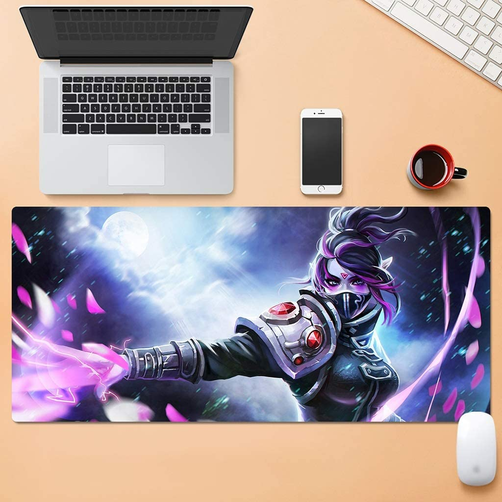 SJJSP Mouse pad Mouse Pad Oversized Esports Game Anime Cartoon Thickening Computer Desk Keyboard Pad Color : E, Size : 5mm