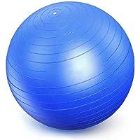 Bola Suiça Premium para Pilates, Yoga e Exercícios, Sistema Anti-Estouro, Várias Cores, Resistente, Leve, Capacidade de…