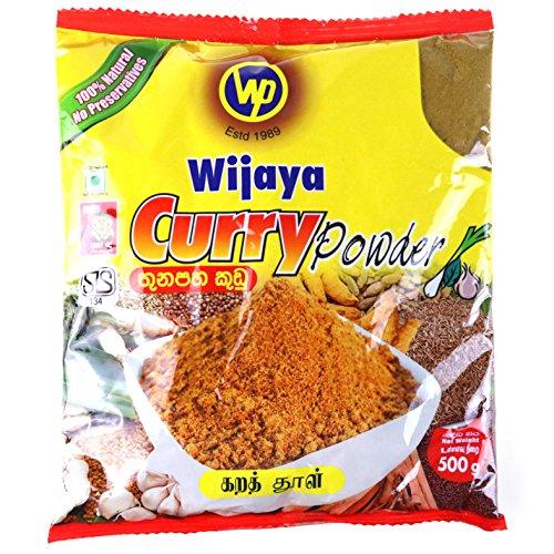 Wijaya Products Sri Lankan Curry Powder 500g (1.1lbs) (Lankan Sri Food)