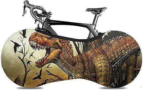 Cubierta De Bicicleta,Cubiertas De Ruedas De Bicicleta Carnívoras Dinosaurio Cazador Sangre Únicas para Bicicleta De Montaña: Amazon.es: Deportes y aire libre