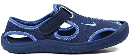 unique design reasonably priced cheapest NIKE Sunray Protect Kinder Sandale Wasserschuhe blau