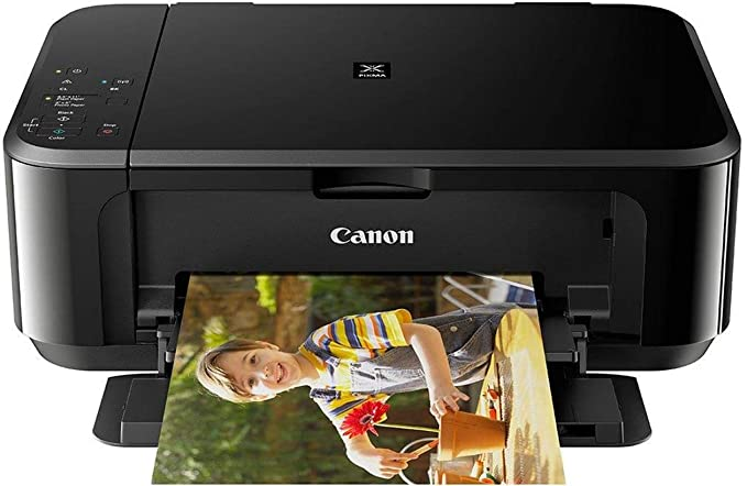 Canon Pixma MG3670 All in One Inkjet Wireless Printer  Black  Inkjet Printers