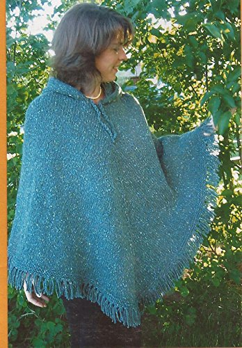 Women's Poncho Knitting Pure & Simple Easy Knitting Pattern #246 Pattern Only