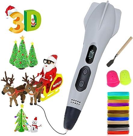 Pluma para impresión 3D,con Pantalla LCD y Control de Temperatura ...