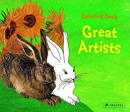Coloring Book: Great Artists