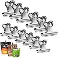 Fu Store12-Packs All-Purpose Air Tight Seal Good Grip Clips Cubicle Hooks