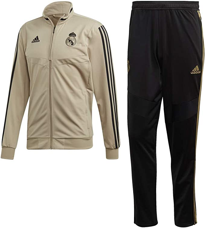 adidas Real PES Suit Chándal, Hombre: Amazon.es: Deportes y aire libre