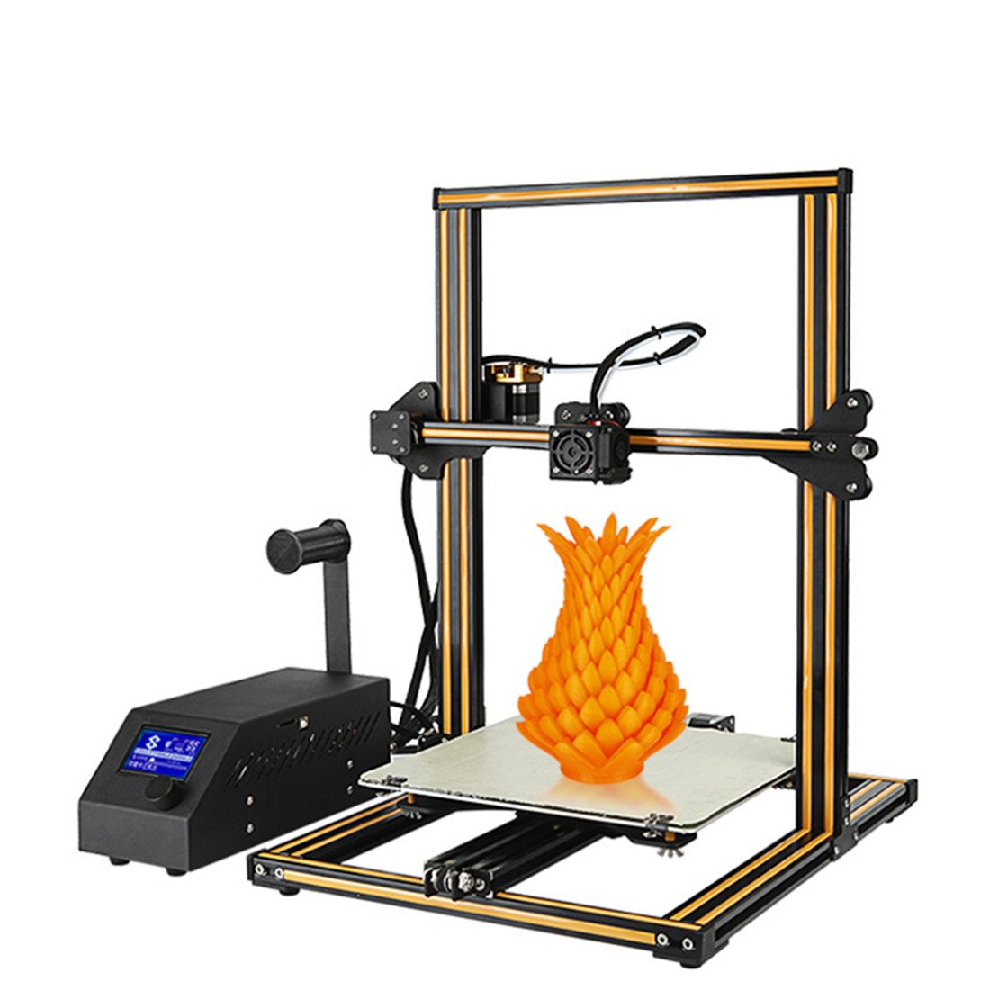 Creality CR-10 3D Printer Aluminum With Heated Bed High-precisio Free Testing Filament+Free Tool Set