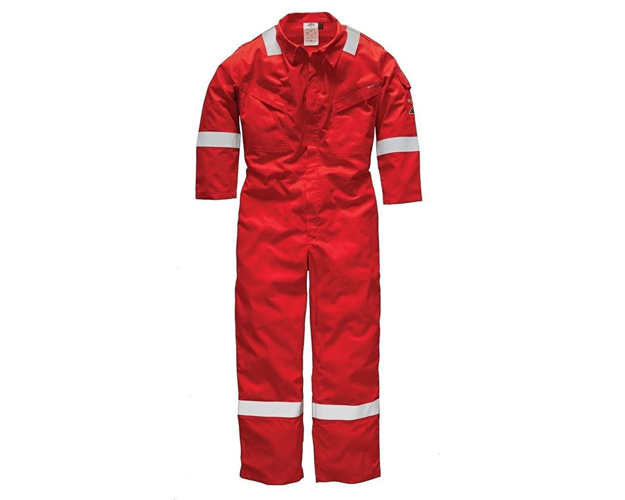 New Dickies WD5407 Flame Retardant Firechief High Visibility Daletec Lightweight Coverall Overall Boilersuit Regular 32'' Leg