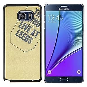SKCASE Center / Funda Carcasa protectora - Textura Quién - Samsung Galaxy Note 5