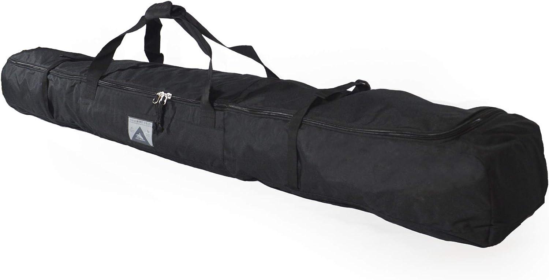 High Sierra Padded Ski Bag for Single Pair of Skis (Up to 185cm) - Black