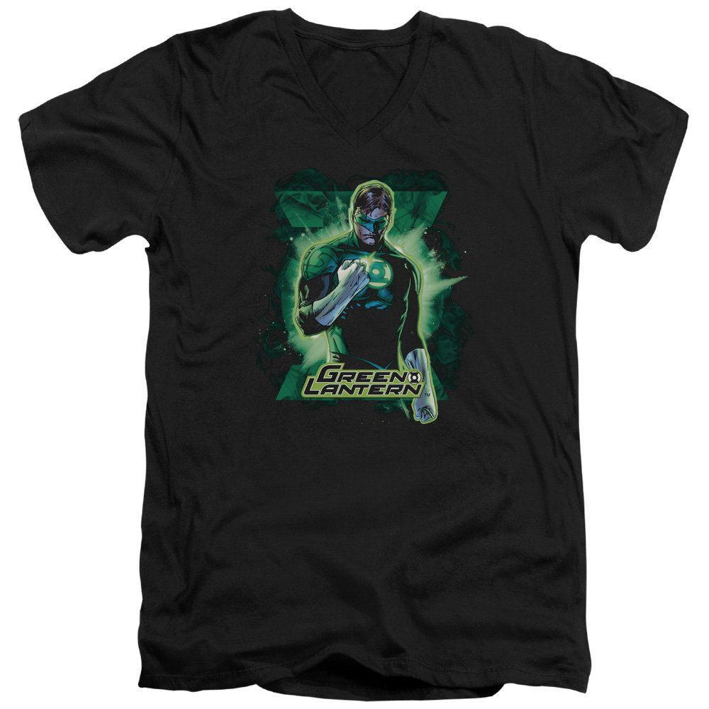 Jla Gl Brooding Adult V Neck T-Shirt