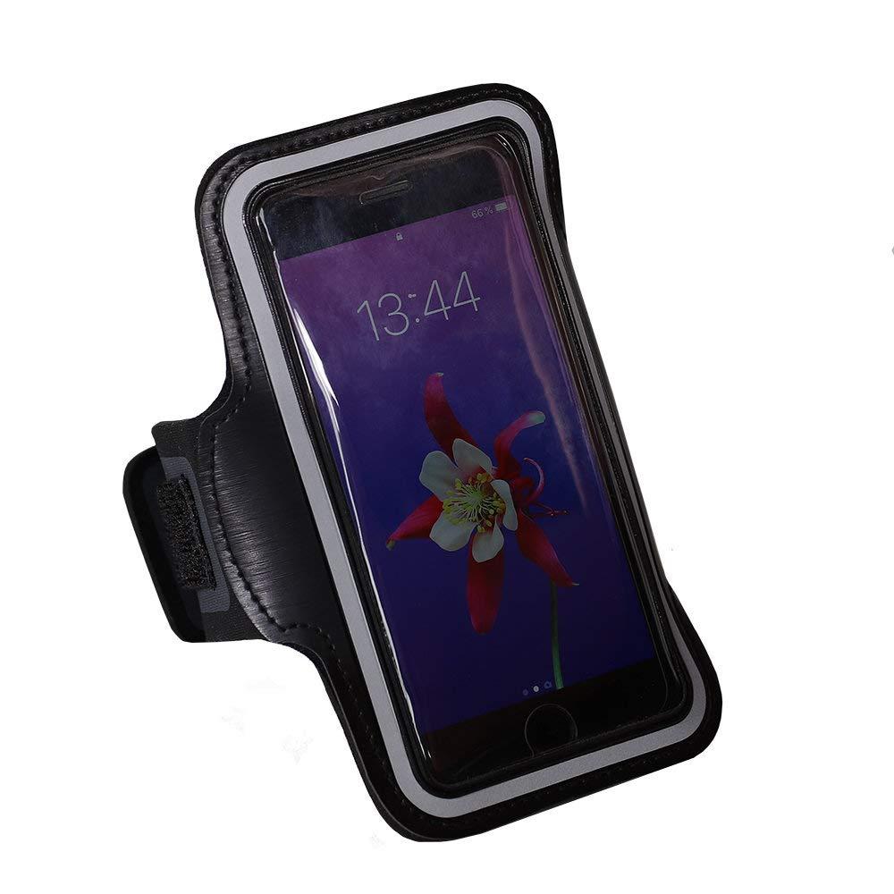 Porte-Cartes Brassard de Sport Compatible avec Blackview BV5500 Pro avec Sangle Ajustable MELELILYA/® Brassard pour Smartphone avec Porte-Cl/és Attache pour C/âble