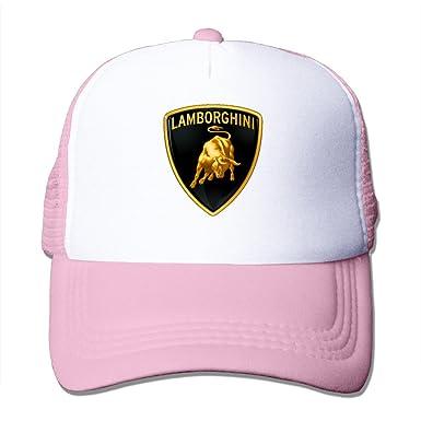 Lamborghini Unisex Snapback Mesh Hat Trucker Baseball Cap  Amazon.co ... 874b4c8338d
