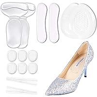 SHEEHAN Anti Slip Heel Shoe Cushion Inserts/Shoe Inserts/Heel Cushion Inserts/Heel Grips/Silicone Thin Adhesive Tape…