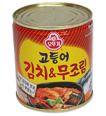 Amazon ottogi mackerel gimchimu simmered 280g easy cooking ottogi mackerel gimchimu simmered 280g easy cooking promotional gifts party food korean food forumfinder Choice Image
