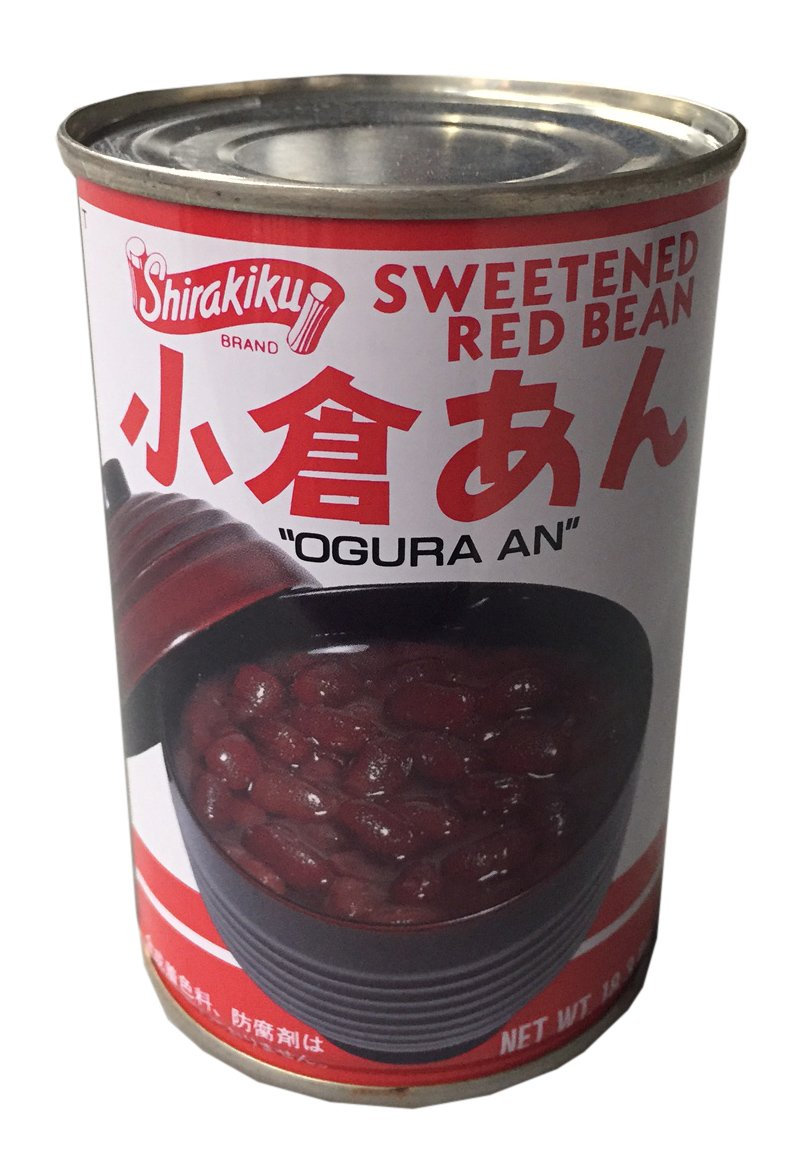 Shirakiku Sweetened Red Bean 18.3 oz (2 Pack)