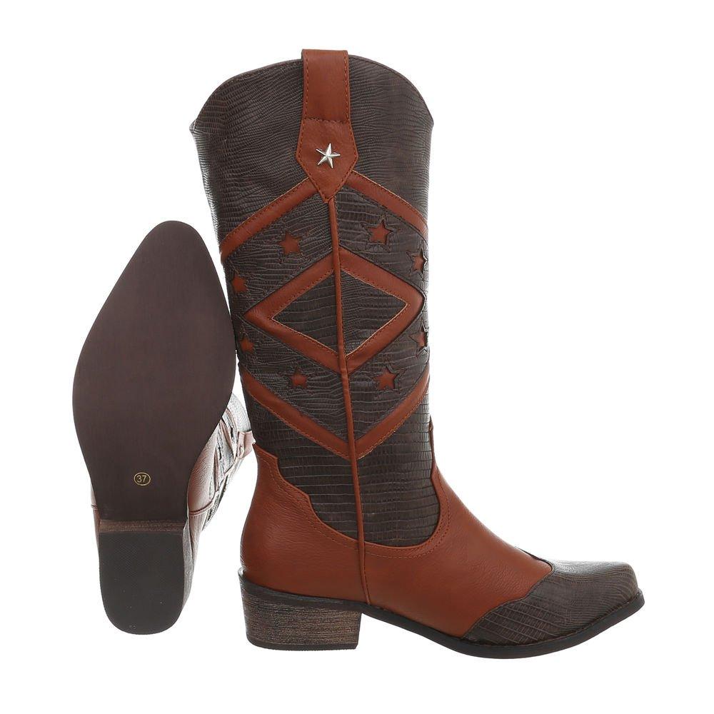 Damen Schuhe  Stiefel  Schuhe  Cowboystiefel   Schuhe Westernstiefel   Karneval Cowboy   Langschaft Stiefel 36-41 0e038c