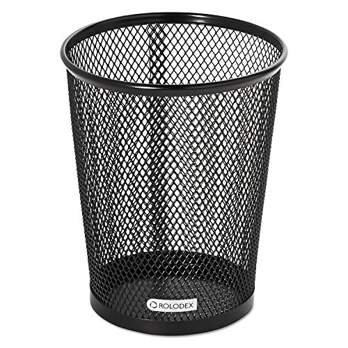 (Rolodex Mesh Collection Jumbo Pencil Cup, Black (62557) (2 pack))