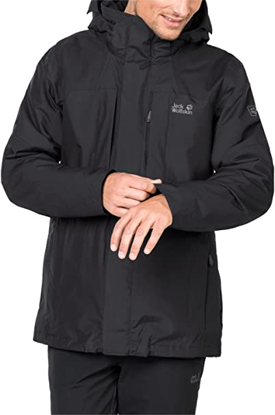 Jack Wolfskin Thorvald Jacket Men black