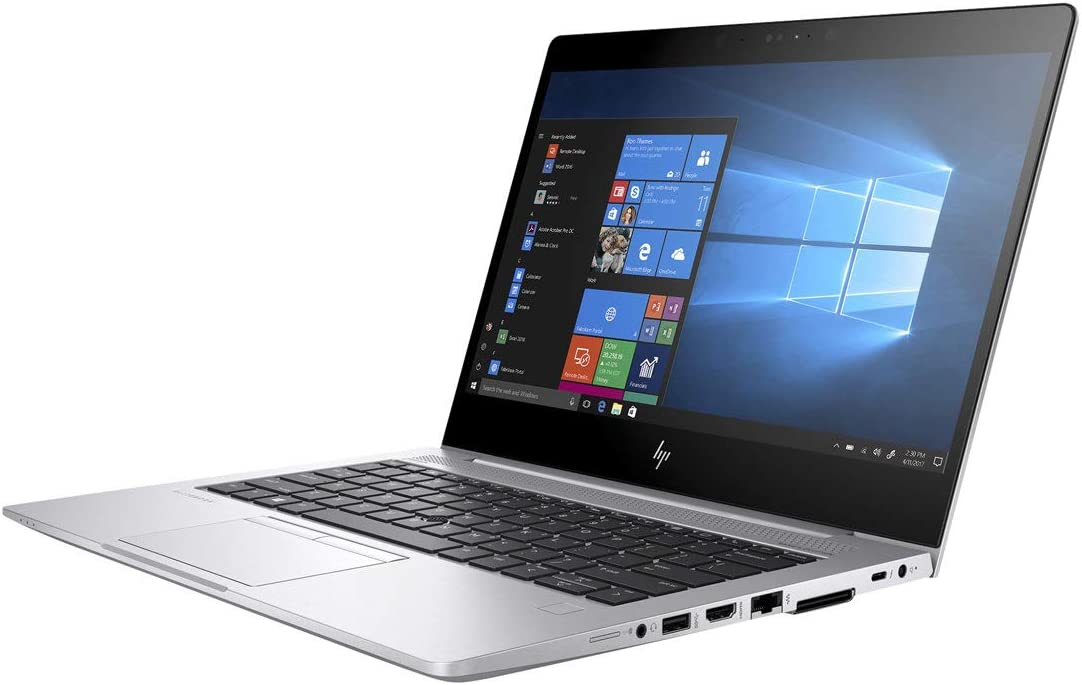 "HP 3PZ03UT#ABA Elitebook 830 G5 13.3"" Notebook - Windows - Intel Core i7 1.8 GHz - 16 GB RAM - 512 GB SSD, Silver"