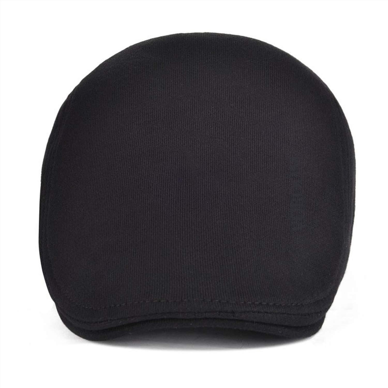 Newsboy Caps Cotton Men Women Soft Beret Flat Driver Retro Vintage Soft Casual Baker Cabbie Hat