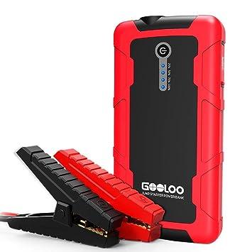 Amazon.com: 600 A Pico arrancador de coche portátil (hasta 5 ...