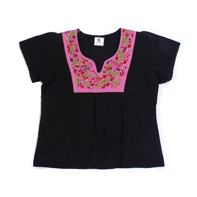 Amazon.com: Mexicano ropa Co para mujer mexicano blusa ...
